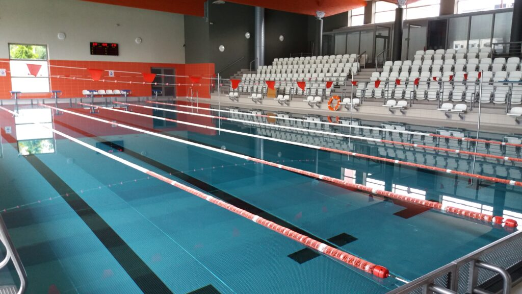 Pływalnia Kasztelanka - tory pływackie