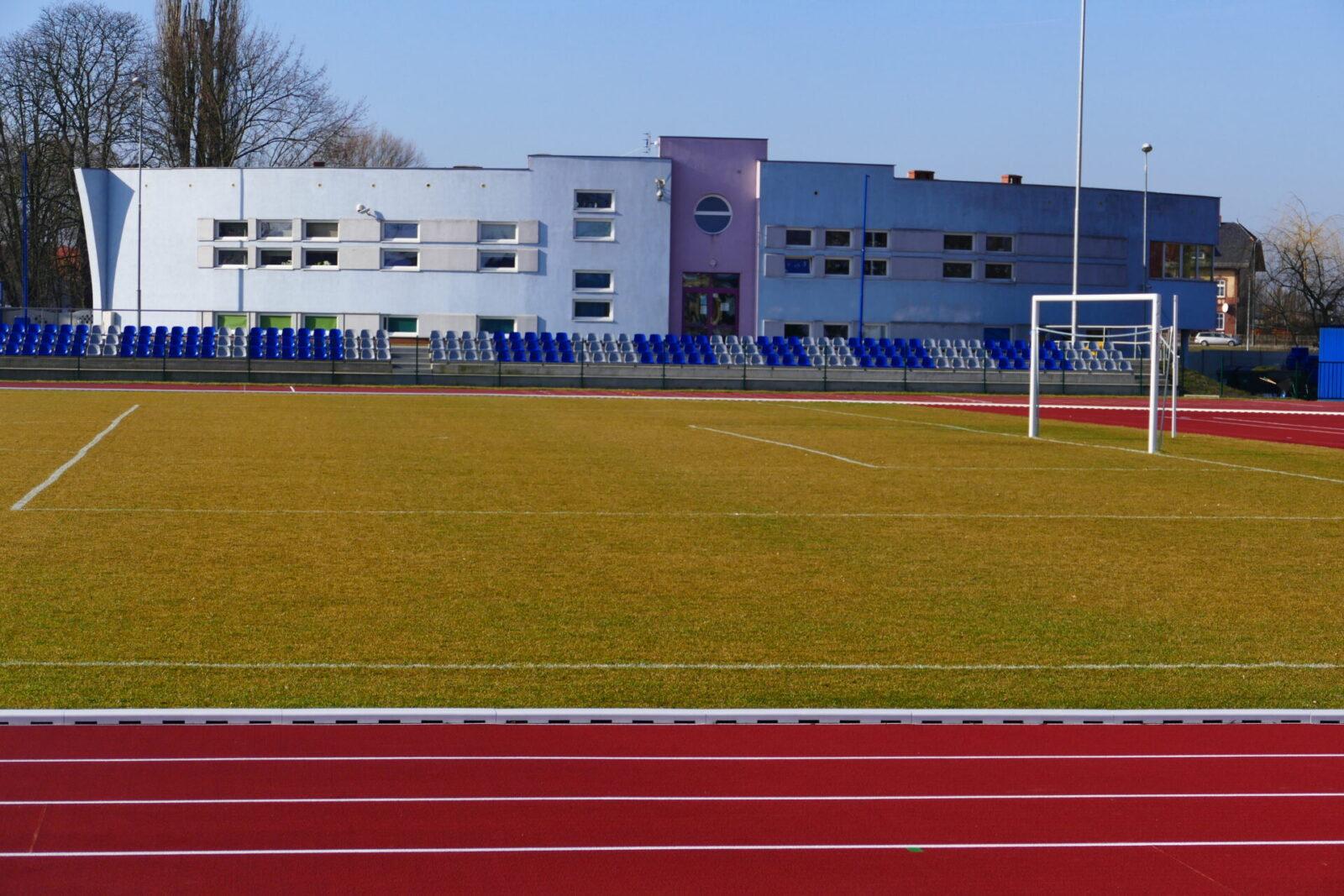 Stadion - budynek administracji