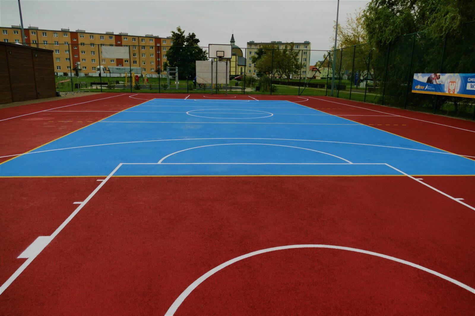 Boisko Orlik w Międzyrzeczu.