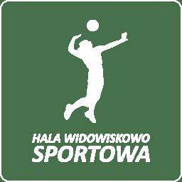 logo hali sportowej w Międzyrzeczu