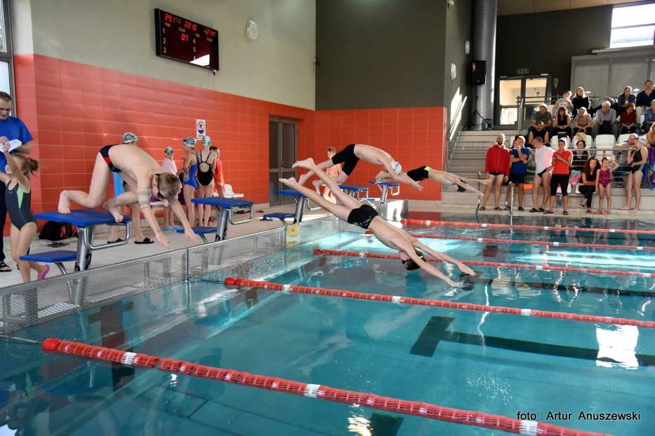 Zawody Pływackie - Familly Cup