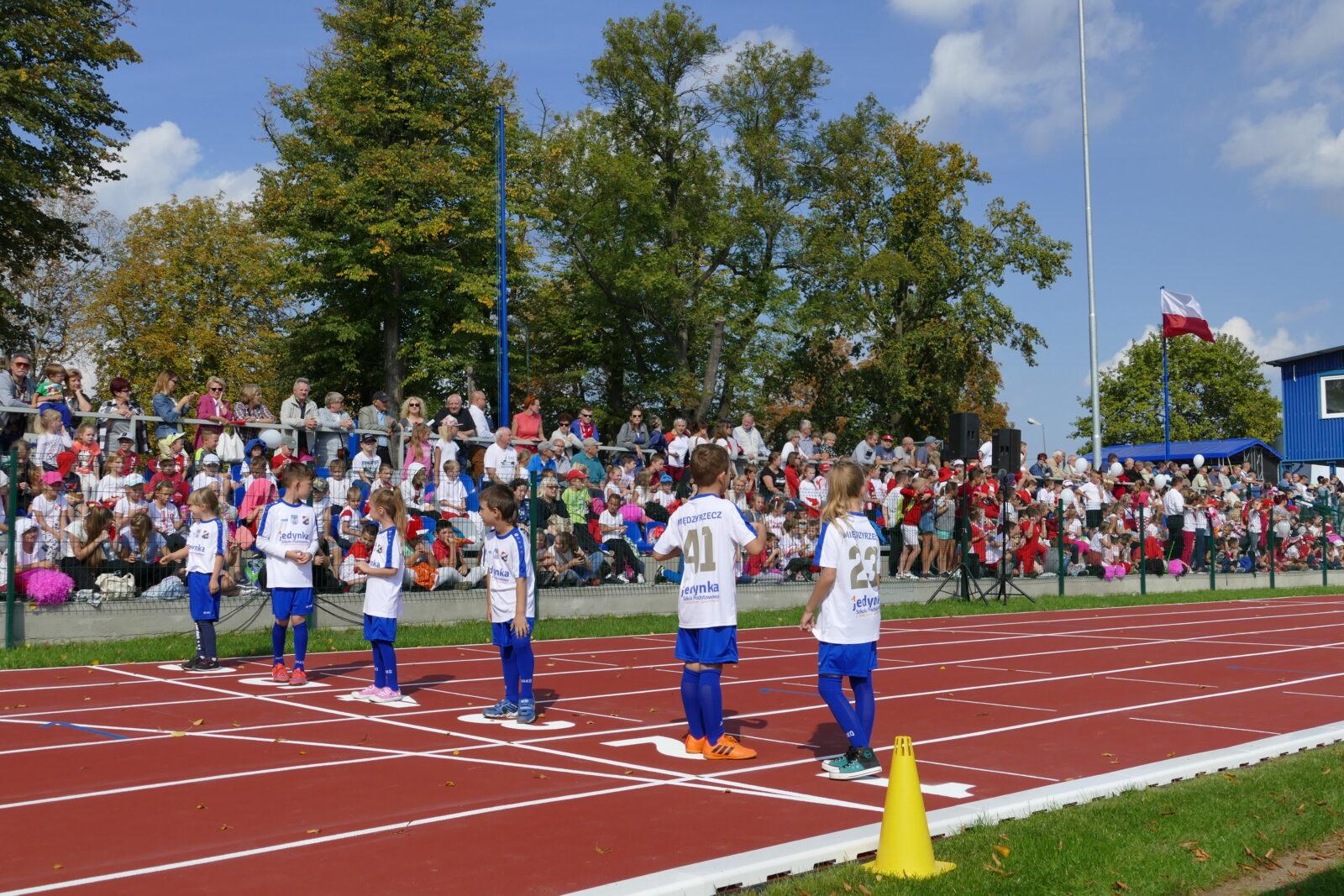Otwarcie Stadionu Miejskiego w Międzyrzeczu.
