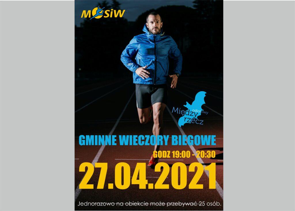 gminne wieczory biegowe - 27.04.2021